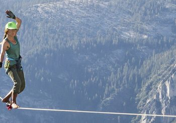 Highline Access in Yosemite National Park