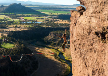 Highline Access in Smith Rock State Park